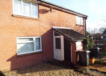 Thumbnail 1 bedroom flat to rent in Frampton Close, Eastleaze, Swindon