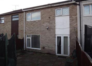 Thumbnail 3 bed terraced house for sale in Llys Siabod, Caernarfon, Gwynedd