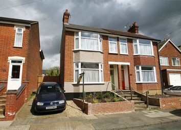 Thumbnail 3 bed semi-detached house for sale in Kensington Road, Ipswich, Suffolk