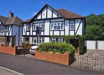 Thumbnail 3 bed semi-detached house for sale in Taunton Lane, Coulsdon