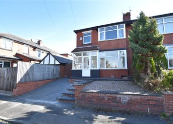 Thumbnail 3 bed semi-detached house for sale in Carlton Avenue, Whitefield, Manchester, Greater Manchester