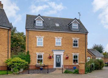 Thumbnail 5 bed detached house for sale in Figsbury Close, Swindon