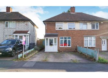 Thumbnail 2 bed semi-detached house for sale in Chipstead Road, Birmingham