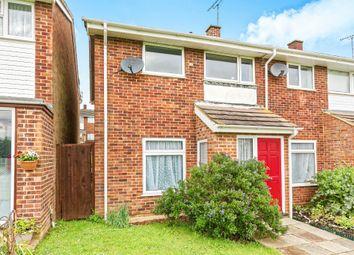 Thumbnail 3 bed semi-detached house for sale in Longcroft Close, Basingstoke