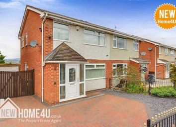 Thumbnail 3 bed semi-detached house for sale in Mountain View Avenue, Mynydd Isa, Mold