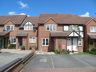 Thumbnail 2 bed terraced house to rent in Pippenfield, Warndon Villages, Worcester