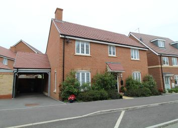 Thumbnail 4 bedroom detached house for sale in Guyana Lane, Milton Keynes