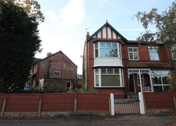 Thumbnail 4 bed semi-detached house for sale in Legwood Court, Flixton Road, Urmston, Manchester