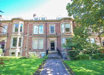 Thumbnail 3 bed flat for sale in Osborne Terrace, Jesmond, Newcastle Upon Tyne