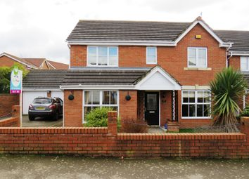 Thumbnail 4 bed detached house for sale in Primrose Close, Corby