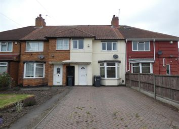 Thumbnail 3 bed terraced house for sale in Clements Road, Yardley, Birmingham