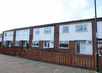 Thumbnail 3 bed terraced house to rent in Bywell Grove, Shiremoor, Newcastle Upon Tyne