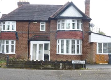 Thumbnail 3 bed semi-detached house to rent in Shirley Road, Hall Green, Birmingham