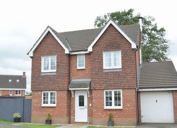 Thumbnail 4 bed detached house for sale in Gables Lea, Willand, Cullompton