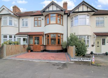 Thumbnail 4 bedroom terraced house for sale in Durham Avenue, Woodford Green, Greater London