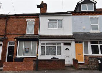Thumbnail 3 bed terraced house for sale in Hubert Road, Selly Oak, Birmingham