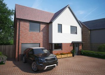 Thumbnail 4 bed detached house for sale in Sweechgate, Broad Oak, Canterbury, Kent