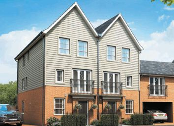 "Thumbnail 4 bed end terrace house for sale in ""Faversham"" at Fen Street, Brooklands, Milton Keynes"