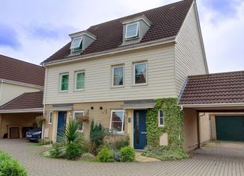 Thumbnail 3 bed semi-detached house for sale in Silvo Road, Costessey, Norwich