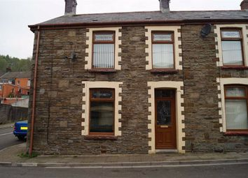 Thumbnail 4 bedroom end terrace house for sale in Glanlay Street, Penrhiwceiber, Mountain Ash