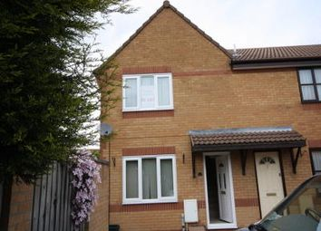 Thumbnail 2 bed end terrace house to rent in Teasel Walk, Locking Castle Weston S Mare