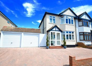Thumbnail 3 bed semi-detached house for sale in Barrow Avenue, Carshalton