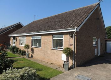 Thumbnail 2 bed semi-detached bungalow to rent in Manor Park Road, Corton, Lowestoft