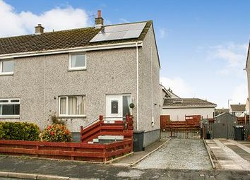 Thumbnail 2 bed semi-detached house for sale in 10 Springfield Crescent, Stranraer