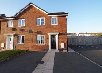 Thumbnail 3 bed semi-detached house for sale in Weavers Avenue, Frizington, Cumbria