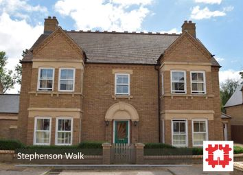 Thumbnail 4 bed detached house for sale in Stephenson Walk, Fairfield, Hitchin, Herts