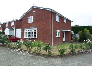 Thumbnail 4 bed detached house for sale in Chipchase Court, New Hartley, Whitley Bay