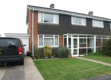 Thumbnail 4 bed semi-detached house to rent in Powis Close, New Milton