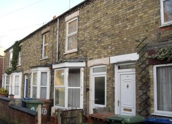 Thumbnail 3 bed terraced house to rent in Marsh Walk, Wisbech
