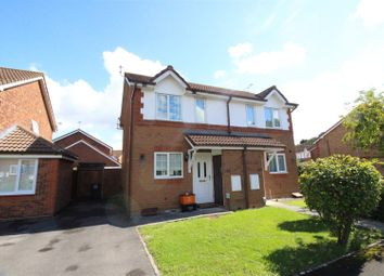 Thumbnail 2 bedroom semi-detached house for sale in Bullfinch Close, Covingham, Swindon