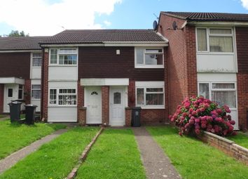 Thumbnail 2 bed town house for sale in Huggett Close, Off Trevino Drive, Leicester