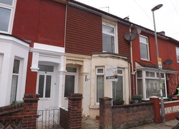 Thumbnail 2 bed terraced house for sale in Ruskin Road, Southsea