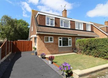 Thumbnail 3 bed semi-detached house for sale in Roche Close, Arnold, Nottingham