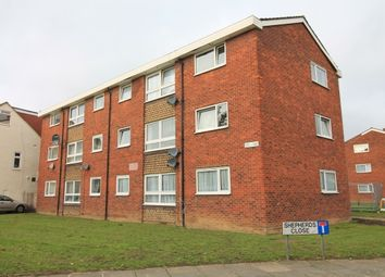 Thumbnail 2 bed flat for sale in Shepherds Close, Chadwell Heath