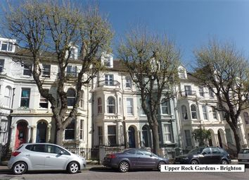 Thumbnail 2 bed flat to rent in Upper Rock Gardens, Brighton