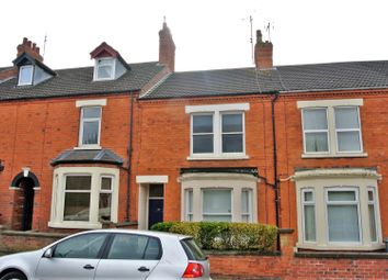 Thumbnail 3 bed terraced house for sale in Houghton Road, Grantham