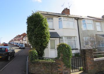 Thumbnail 2 bed end terrace house for sale in Gladstone Road, Barry