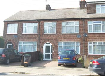 Thumbnail 3 bed terraced house to rent in Lingfield Road, Gravesend