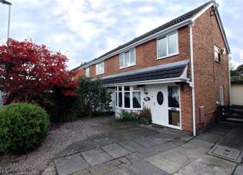 Thumbnail 3 bed semi-detached house for sale in Earlsbrook Drive, Trentham, Stoke On Trent