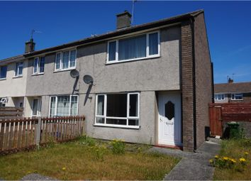 Thumbnail 2 bed semi-detached house for sale in Ffordd Jasper, Holyhead