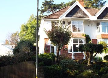 Thumbnail 4 bed semi-detached house for sale in 23 Parc Wern Road, Sketty, Swansea
