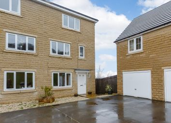 Thumbnail 3 bed semi-detached house for sale in Bramling Cross Court, Halifax
