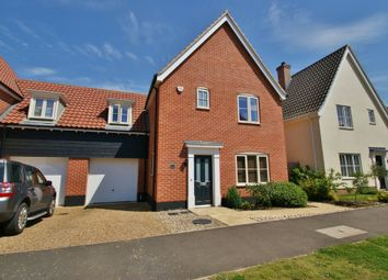 Thumbnail 3 bed link-detached house for sale in Trafford Way, Spixworth, Norwich