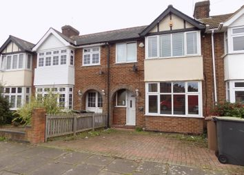Thumbnail 3 bed terraced house to rent in Stapleford Road, Luton, Bedfordshire