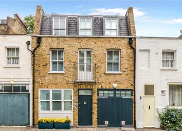 Thumbnail 4 bed mews house for sale in Leinster Mews, London