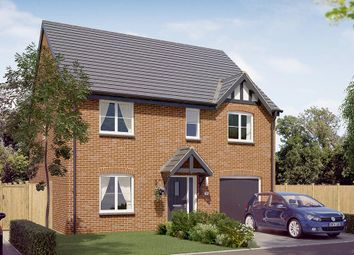 "Thumbnail 4 bed detached house for sale in ""The Rosebury"" at Newbold Road, Chesterfield"